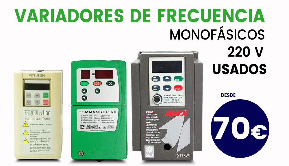 Variador de velocidad monofasico precio